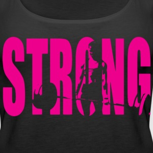 STRONG Girl Deadlift Tanks - Women's Premium Tank Top