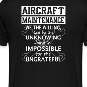Aircraft Maintenance - Men's Premium T-Shirt