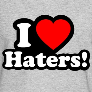 I LOVE HATERS Long Sleeve Shirts - Men's Long Sleeve T-Shirt