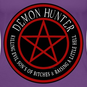 Demon Hunter  Killing evil son bitches raising a l Women's T-Shirts - Women's Premium T-Shirt