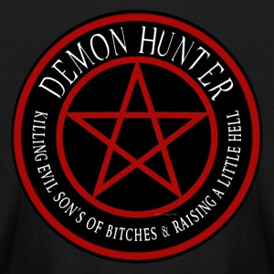Demon Hunter  Killing evil son bitches raising a l Kids' Shirts - Kids' Long Sleeve T-Shirt