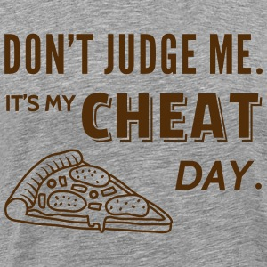 Cheat Day Funny Diet T-Shirts - Men's Premium T-Shirt