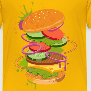 A Burger Graffiti Baby & Toddler Shirts - Toddler Premium T-Shirt