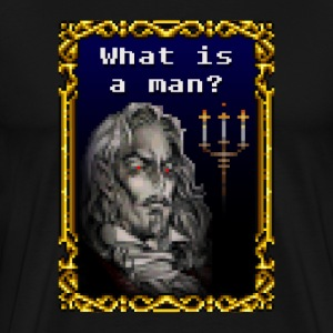 What is a Man? T-Shirts - Men's Premium T-Shirt