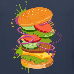 A Burger Graffiti Tank Tops - Men's Premium Tank