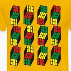 Opti Blocks T-Shirt, in 12 Colors