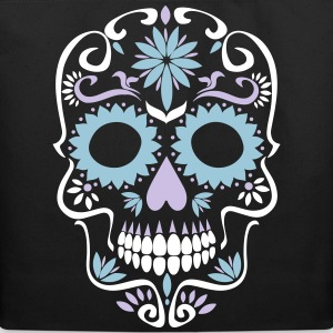 sugar skull Bags & backpacks - Eco-Friendly Cotton Tote