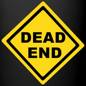 Dead End Sign Mugs & Drinkware - Full Color Mug