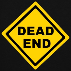 Dead End Sign Hoodies