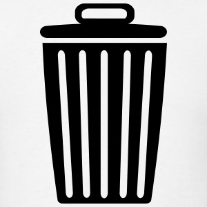 Trash Can  T-Shirts - Men's T-Shirt