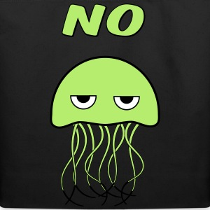 grumpy jellyfish Bags & backpacks - Eco-Friendly Cotton Tote