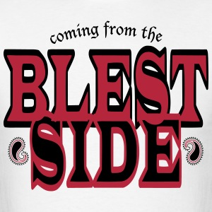 BLEST SIDE / RED BLK - Men's T-Shirt