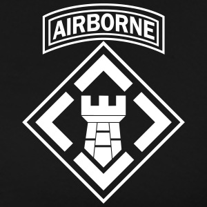 20th Engineers Master Airborne - Men's Premium T-Shirt