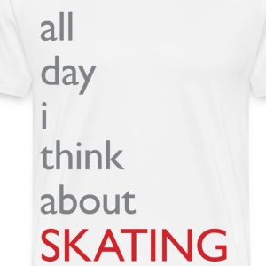 Skaters Thoughts - Men's Premium T-Shirt