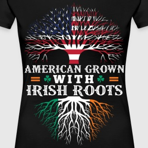 American Grown With Irish Roots - Women's Premium T-Shirt