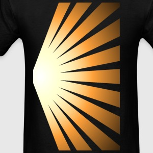Golden Rays of the Sun - Men's T-Shirt