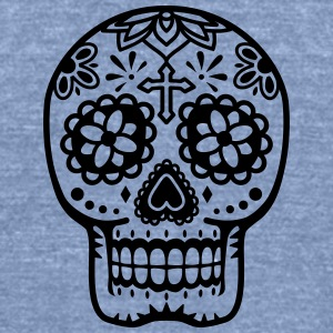 mexican head T-Shirts - Unisex Tri-Blend T-Shirt by American Apparel
