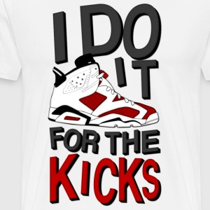 i do it for the kicks carmines 6 T-Shirts - Men's Premium T-Shirt