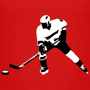 Ice hockey player Kids' Shirts - Kids' Premium T-Shirt