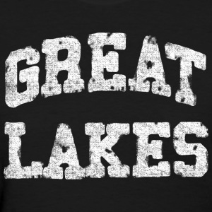 Classic Old Great Lakes Distressed Women's T-Shirts - Women's T-Shirt
