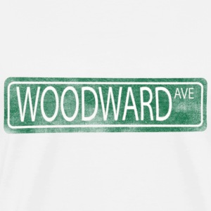 Woodward Avenue Detroit M1 T-Shirts - Men's Premium T-Shirt