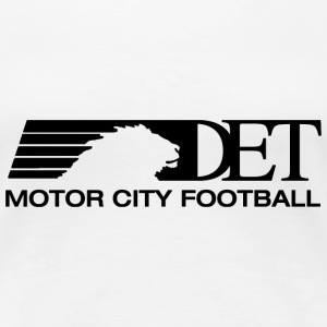 Classic Motor City Football Women's T-Shirts - Women's Premium T-Shirt