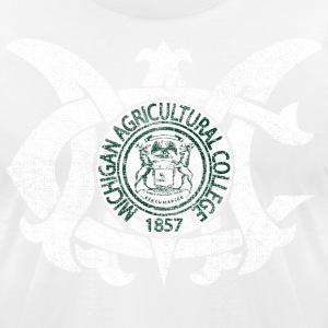 Old MAC Agriculture College Michigan T-Shirts - Men's T-Shirt by American Apparel