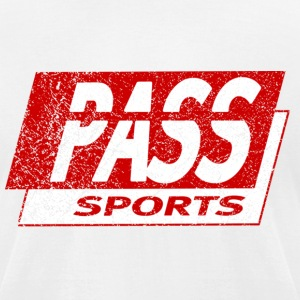 Old School Retro PASS Sports Detroit T-Shirts - Men's T-Shirt by American Apparel