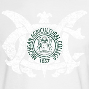 Old MAC Agriculture College Michigan Long Sleeve Shirts - Men's Long Sleeve T-Shirt