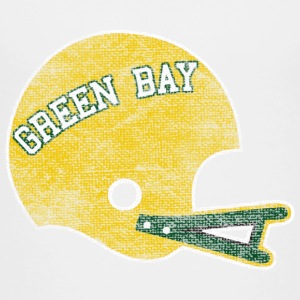 Vintage Green Bay Football Helmet Baby & Toddler Shirts - Toddler Premium T-Shirt