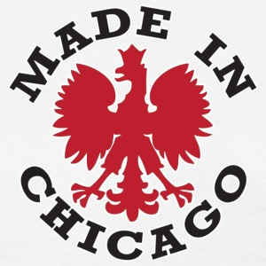 Made in Chicago Polish Poland Pride Women's T-Shirts - Women's T-Shirt