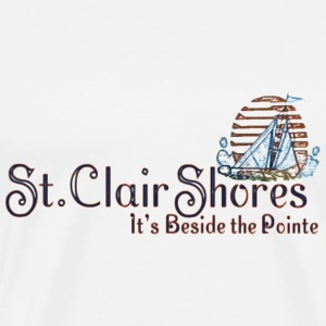 St. Clair Shores Michigan T-Shirts - Men's Premium T-Shirt