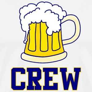 Milwaukee Brew Crew Beer Baseball T-Shirts - Men's Premium T-Shirt