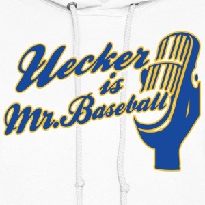 Ueck Uecker Milwaukee Mr. Baseball Hoodies - Women's Hoodie