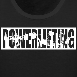 Powerlifting Tank Tops - Men's Premium Tank