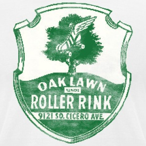 Oak Lawn Roller Rink T-Shirts - Men's T-Shirt by American Apparel