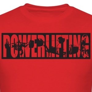 Powerlifting T-Shirts - Men's T-Shirt
