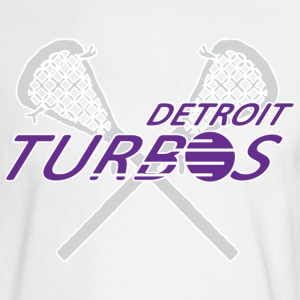 Detroit Turbos Old School Lacrosse Long Sleeve Shirts - Men's Long Sleeve T-Shirt