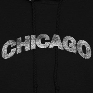 Distressed Chicago Arch Hoodies - Women's Hoodie
