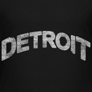 Distressed Detroit Arch Baby & Toddler Shirts - Toddler Premium T-Shirt
