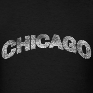 Distressed Chicago Arch T-Shirts - Men's T-Shirt