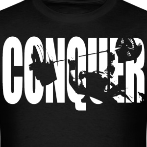 CONQUER (Bench Press) T-Shirts - Men's T-Shirt