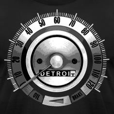 1968 Detroit Speedometer T-Shirts