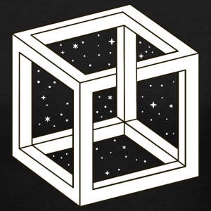 Unreal Cube Space Women's T-Shirts - Women's V-Neck T-Shirt
