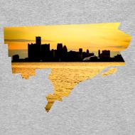 Design ~ Detroit Skyline River