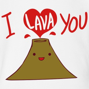 I Lava You Shirt Baby & Toddler Shirts - Short Sleeve Baby Bodysuit