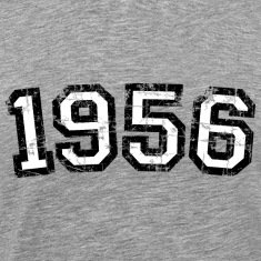 Year 1956 Vintage Birthday T-Shirt (Men) Premium