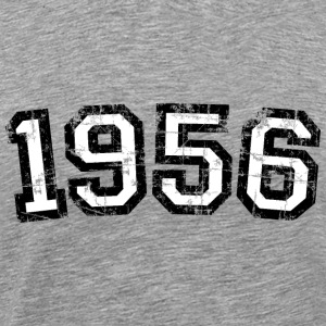 Year 1956 Vintage Birthday T-Shirt (Men) Premium - Men's Premium T-Shirt