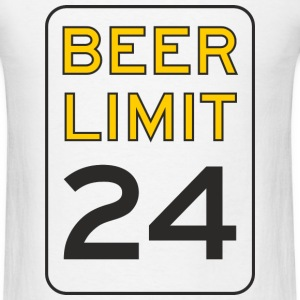 Beer Limit Men's T-Shirt - Men's T-Shirt