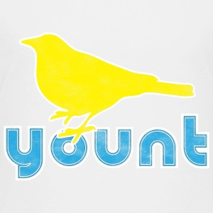 A robin on a Yount Baseball Baby & Toddler Shirts - Toddler Premium T-Shirt